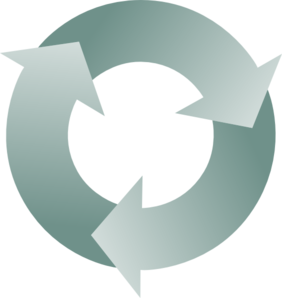 Circular Recycle Arrows Clip Art