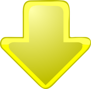 Yellow-down-arrow Clip Art