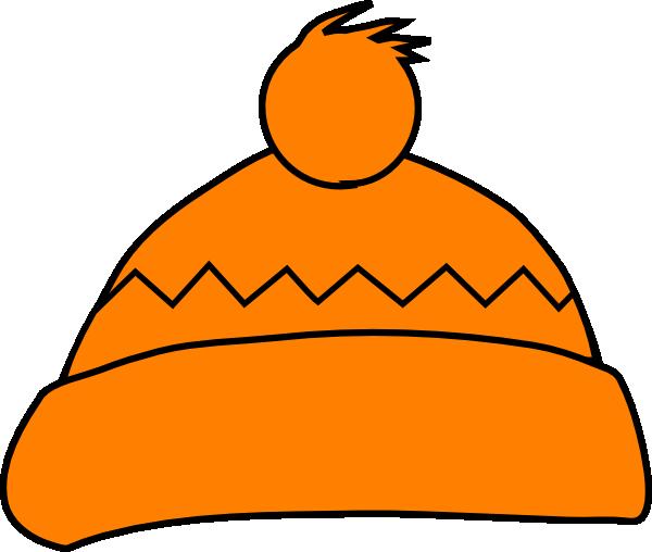 Orange Winter Hat Clip Art At Clker.com