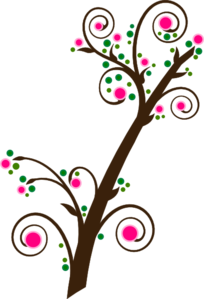 Spring Branch Edit 3 Clip Art
