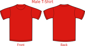 Red T Shirt Clip Art