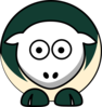 Sheep - Cal Poly Mustangs - Team Colors - College Football Clip Art