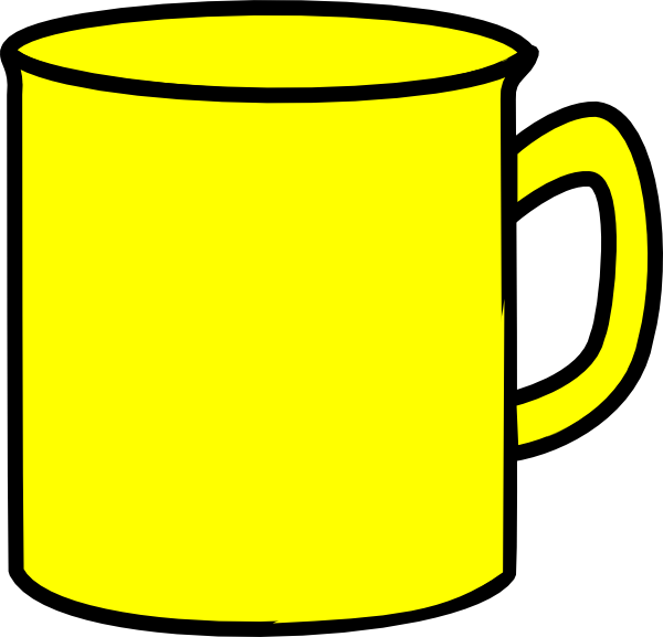 yellow mug clip art at clker com vector clip art online royalty rh clker com beer mug images clipart coffee mug clip art