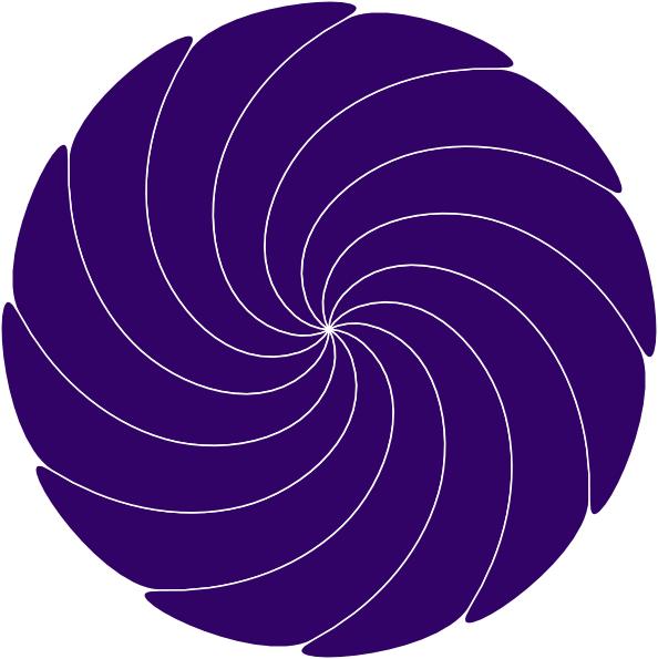 Purple Swirl Clip Art at Clker.com - vector clip art ...