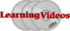 Learning Videos Logo Clip Art