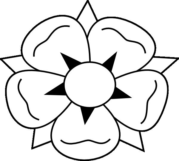 Hawaiian Flower Clip Art at Clker.com - vector clip art online ...