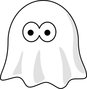 ghost clip clipart clker royalty astghik shared domain