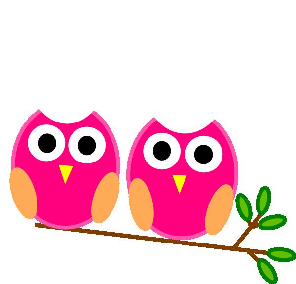 pink owls on branch clip art at clker com vector clip art online rh clker com cute owl on branch clip art owl on branch clip art free