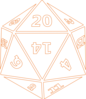 Twenty-sided Dice Clip Art
