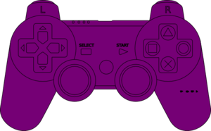 Gamecontrolpurple Clip Art