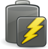 Empty Charging Battery Clip Art