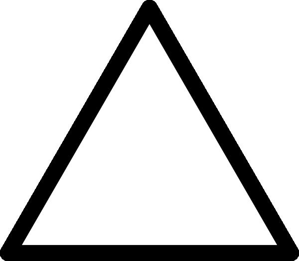 Black Triangle Clip Art at Clker.com - vector clip art ...