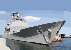 The Guided Missile Cruiser Uss Shiloh (cg 67) Makes Her Way Into Her Berth At Naval Station San Diego Clip Art