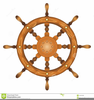 Ship Wheel Clipart Image