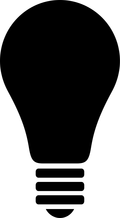 Christmas Light Bulb Outline Clip Art Light bulb image - vector clip