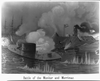 Battle Of The Monitor And Merrimac Image