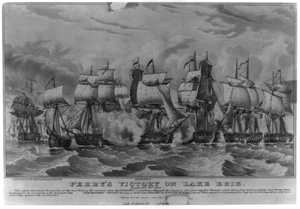 Perry S Victory On Lake Erie: Fought Septr. 10th 1813 Image