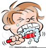 Free Clipart Of Children Brushing Their Teeth Image