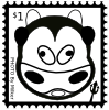 Cow Stamp Clip Art