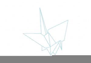Origami Crane Design Image