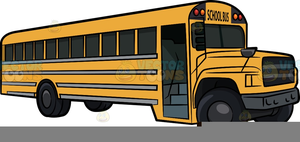 Animated Clipart School Bus Image