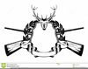Hunting Clipart Black And White Image