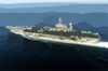 Uss Constellation (cv 64) Conducts Flight Operations In Support Of Operation Iraqi Freedom. Clip Art