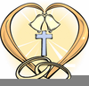 Christian Wedding Anniversary Clipart Image