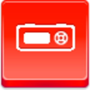 Free Red Button Icons Mp Player Image