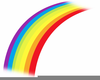 Free Rainbow Bridge Clipart Image
