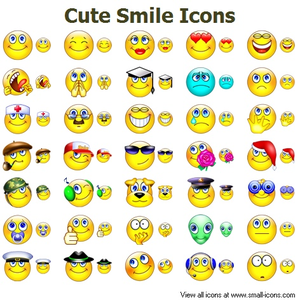 Cute Smile Icons Image