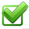 Green Checkbox Clipart Image