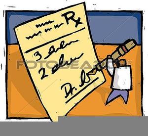 doctor writing prescription clipart free images at clker com rh clker com prescription clipart black and white prescription label clipart