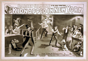 Barney Gilmore In The Great Comedy Drama, Kidnapped In New York By Howard Hall. Image