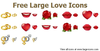 Free Large Love Icons Image