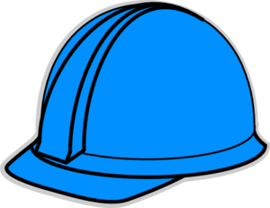Clip Art Hard Hat Clipart blue hard hat clip art at clker com vector online art