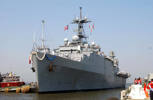 Uss Ponce (lpd 15) Returns To It Image