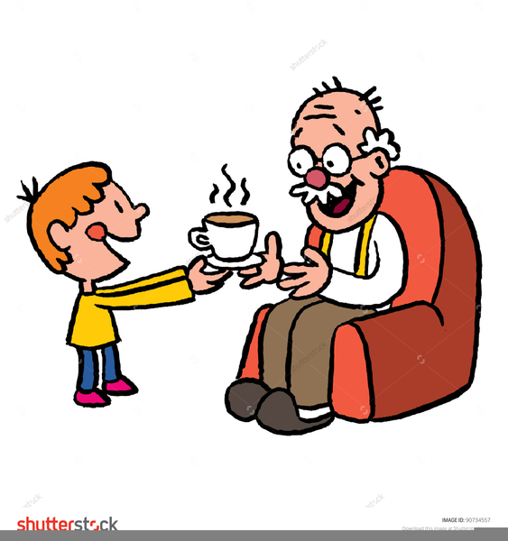 grandpa and grandson clipart free images at clkercom