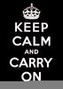 Free Keep Calm Clipart Image