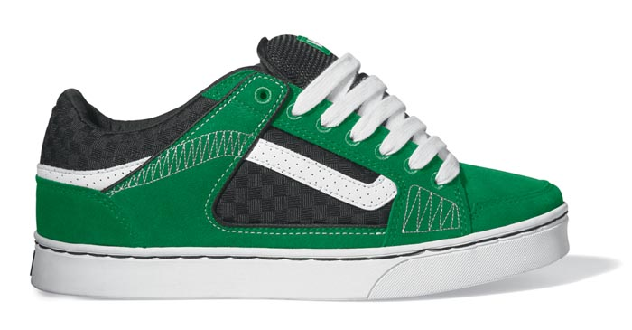 Vans Repeater Skate Shoe Green | Free Images at Clker.com - vector ...