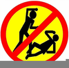 Anti Violence Clipart Image