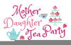 Mad Hatter Tea Party Clipart Image