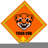 Cub Scouts Tiger Insignia Clipart Image