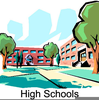 Free Clipart Of Schools Buildings Image