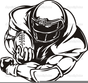 free american football clipart free images at clker com vector rh clker com free football clipart border free football clipart images black and white