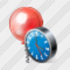 Icon Ball Clock Image