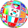 Sphere Flags Clip Art