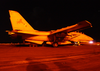 An F-14 Tomcat Assigned To The  Black Lions  Of Fighter Squadron Two One Three (vf-213) Prepares To L