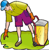 Free Animated Clipart And Housework Image