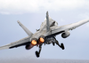 An F/a-18c Hornet Launches From One Of Four Steam Powered Catapults On The Flight Deck Aboard Uss Constellation (cv-64) For A Unit Level Training Mission Image